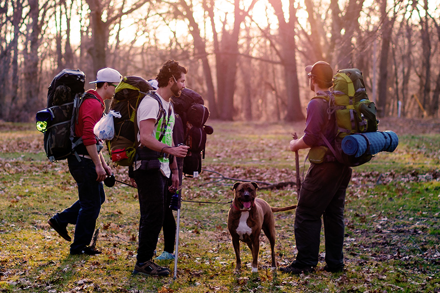 Camping and hiking for your bachelor party