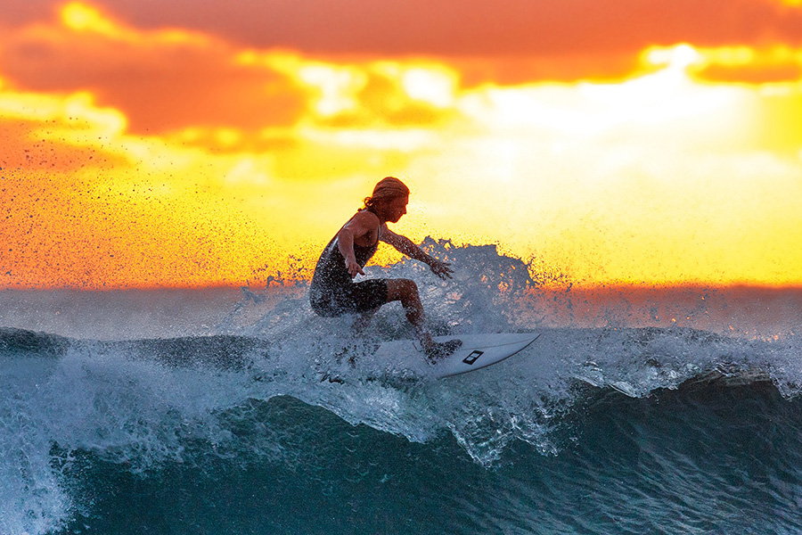 Take a surfing class or any other fun class with your friends for your bachelor party