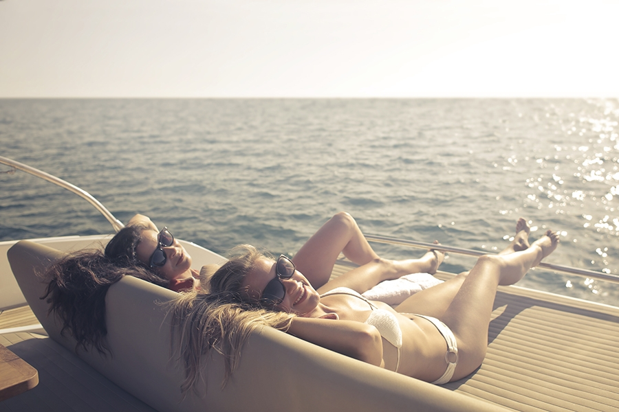 Rent a boat for your bachelorette party
