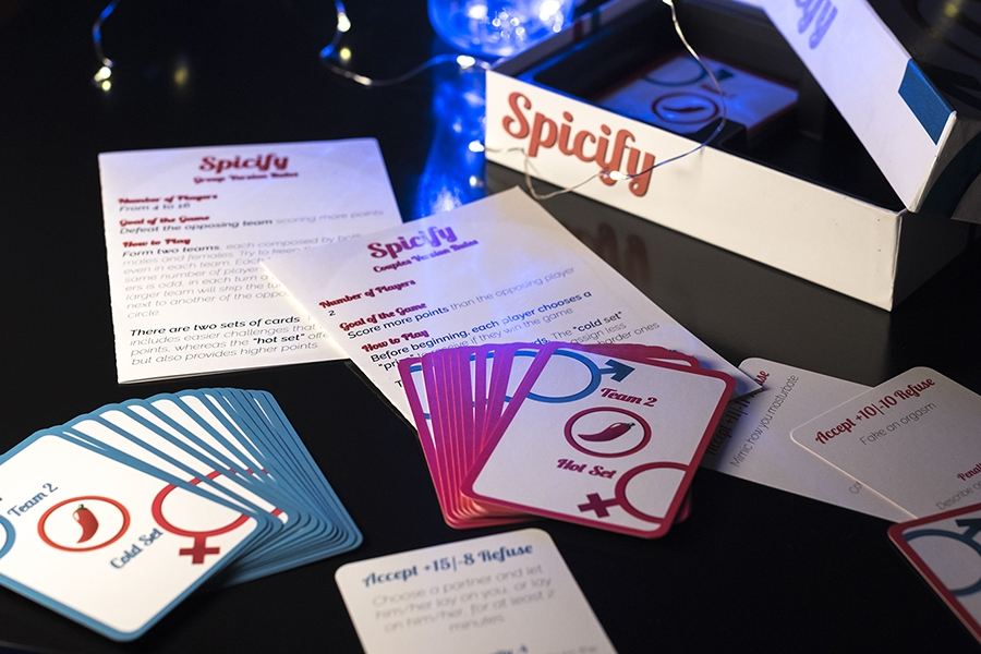 Spicify the hot game for couples and group of friends
