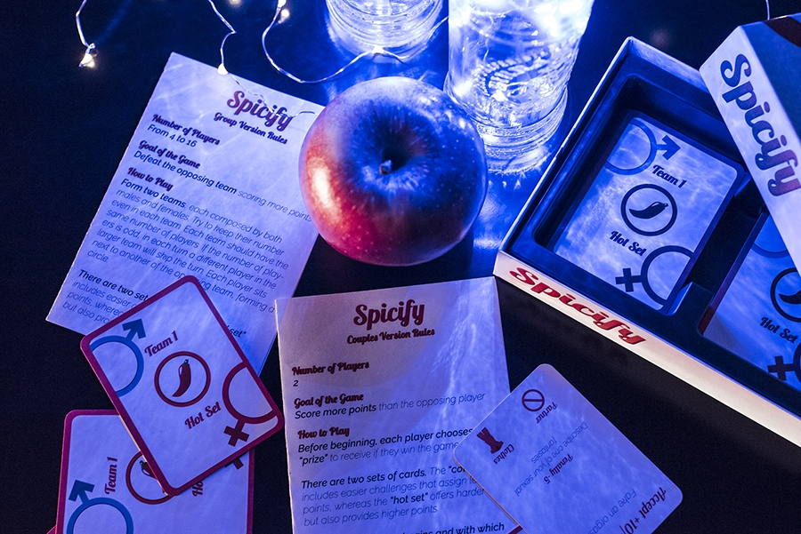 Spicify, sexy card game for friends and couples, is it a sin?