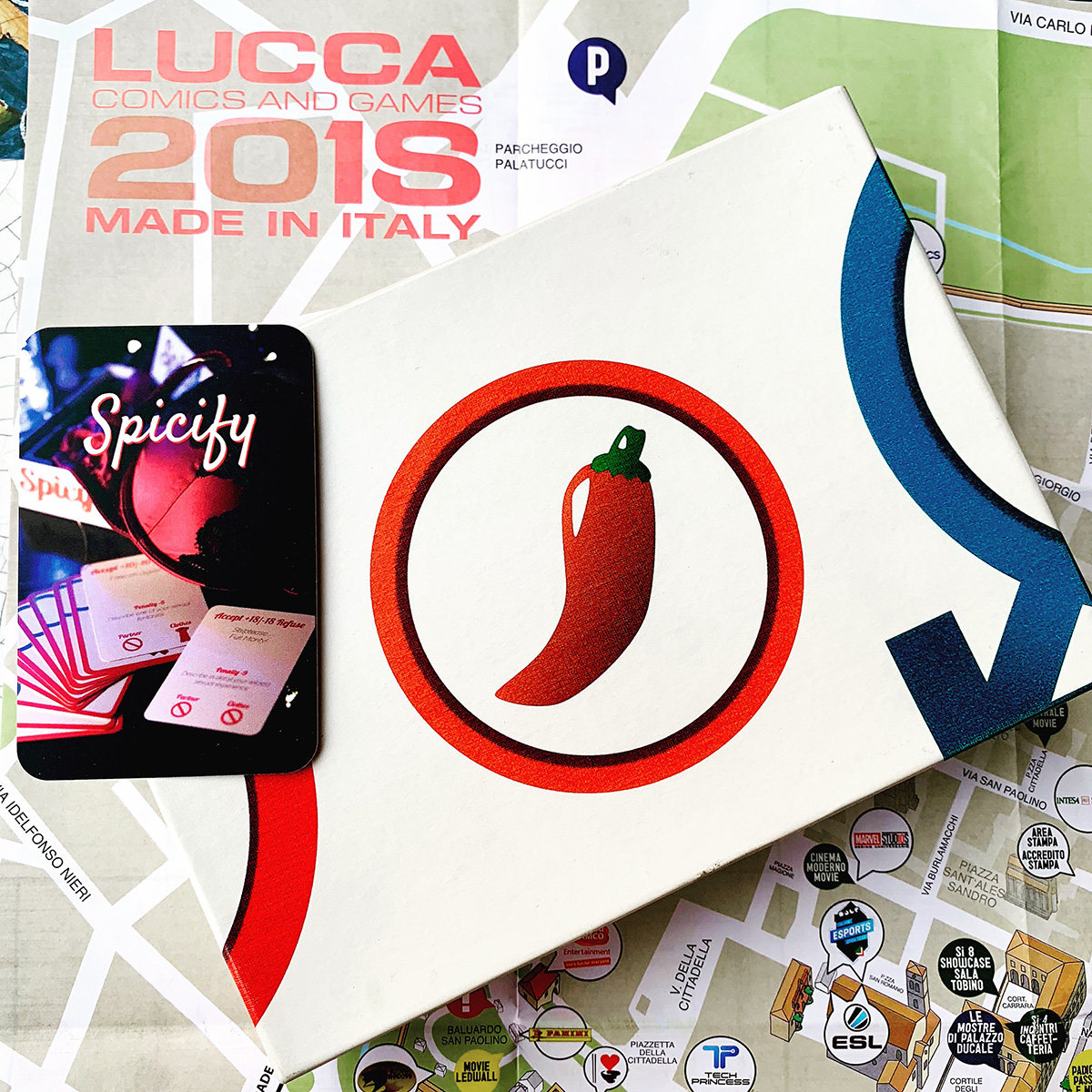 Spicify at Lucca Comics and Games 2018